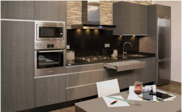 Muebles de cocina impecables a toda hora