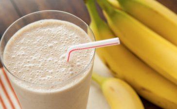 ¿Cómo preparar un delicioso licuado de Bananas?