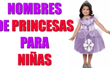 Nombres de princesas
