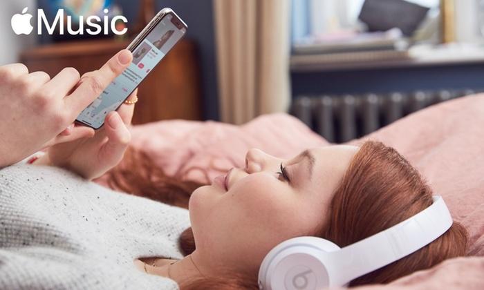 Apple Music gratis durante 4 meses
