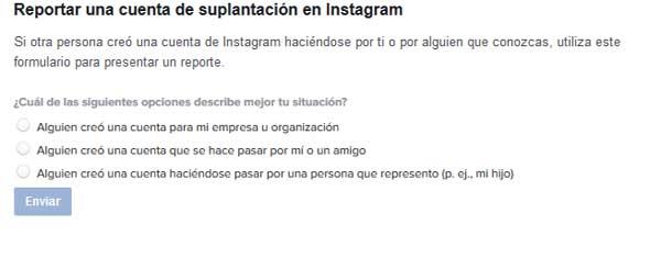 bloquear un perfil de Instagram