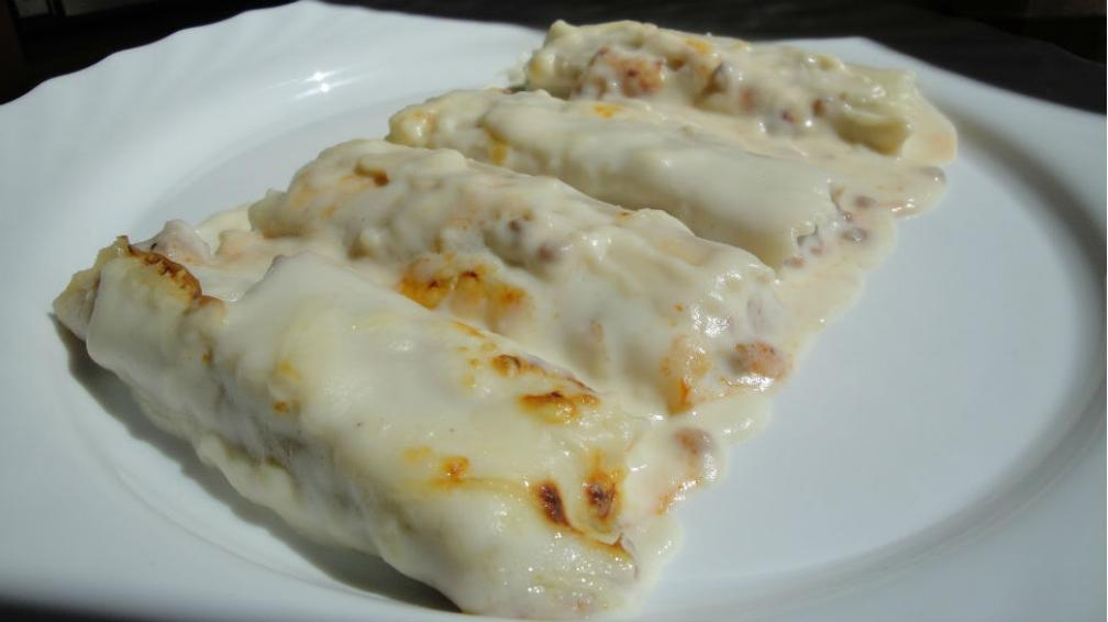 Salsa blanca para canelones