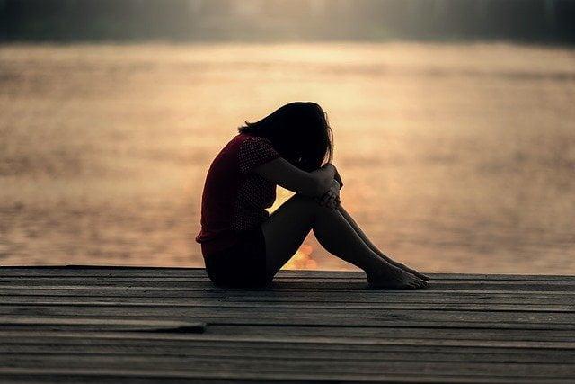 mujer que sufre maltrato