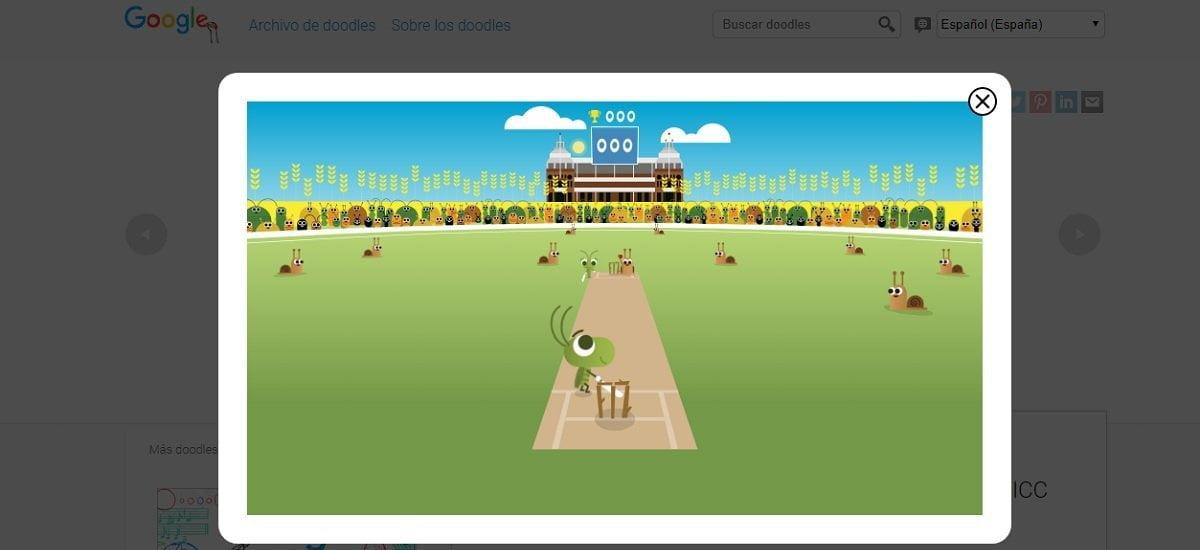 Google Doodle juego