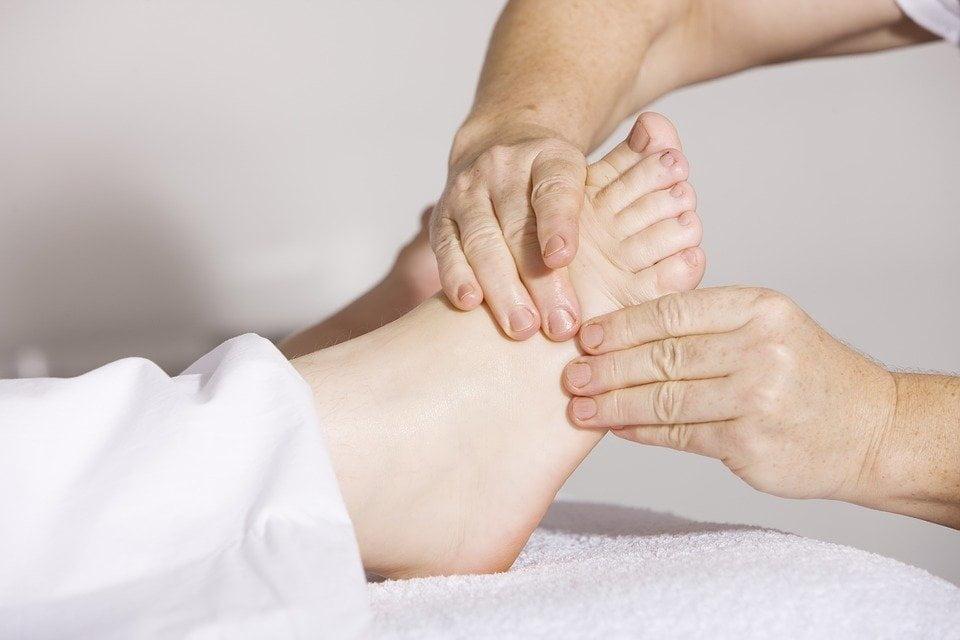 estimular los pies