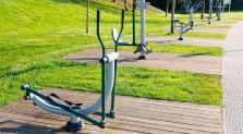 El gimnasio al aire libre para comenzar actividad física